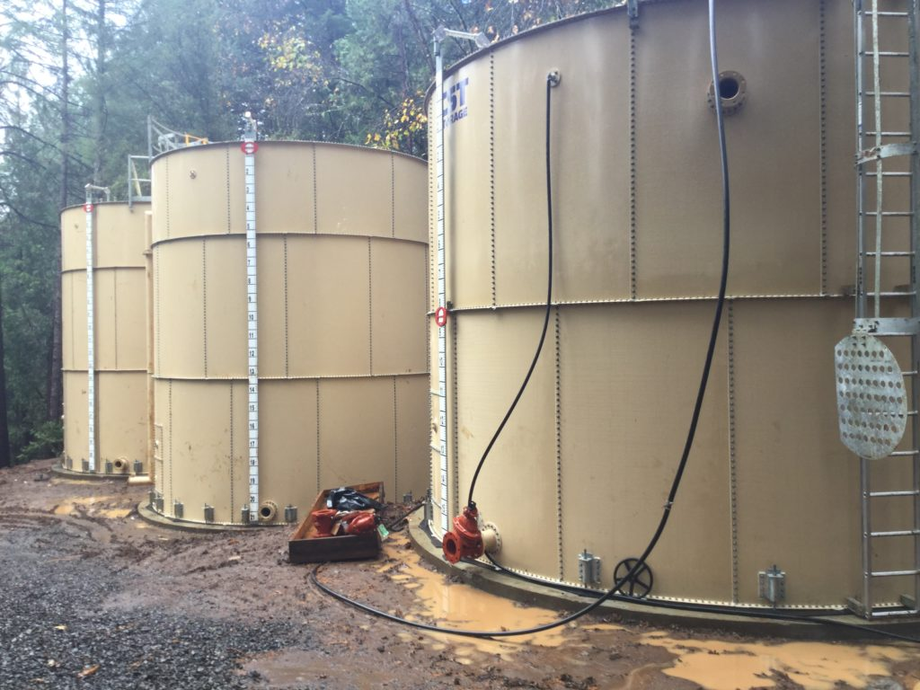 Water Tanks Maintenance | Big Bend Hot Springs Project